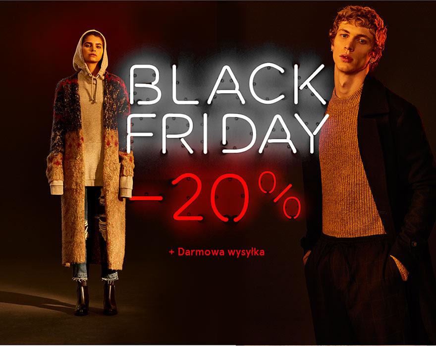 [BLACK FRIDAY] PULL&BEAR -20% na wszystko + dostawa GRATIS