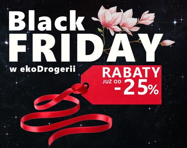 25% rabatu na wszytko [Black Friday] @ ekoDrogeria.pl