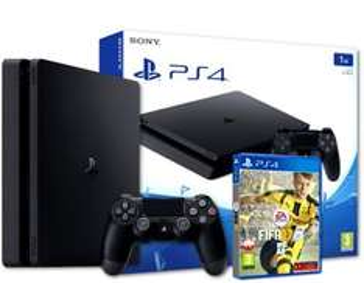 PS4 Slim 500GB + FIFA17 @Redcoon