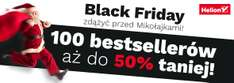 Black Friday: 20% (książki) i 50% (eBooki) @ Helion, OnePress, Sensus