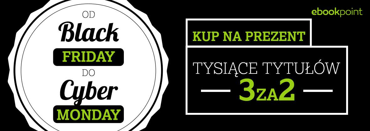 [Black Friday] Promocja 3za2 na audiobooki i ebooki @ ebookpoint