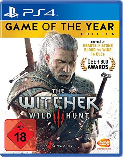 Wiedźmin: Edycja Gry Roku (gra z dodatkami) [Xbox One/PS4] za ~105zł z wysyłką @ Amazon.de