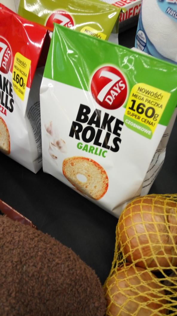 Bake Rolls 160g @ Auchan Komorniki