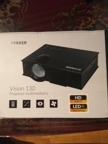 Projector Hykker LED Vision 130 za 231zł @ Biedronka