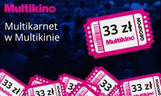 Bilety do Multikina od 14,95zł @ Groupon