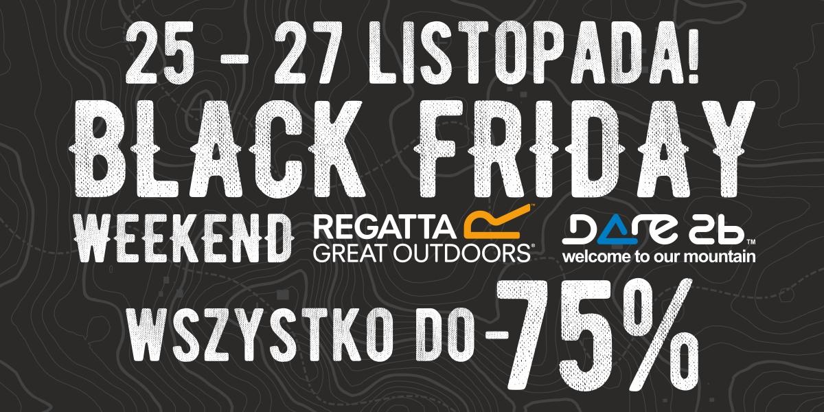 [Black Friday]  Rabaty do -75% na ubrania i buty (kamizelka 74zł, polar 79zł) @ Regatta