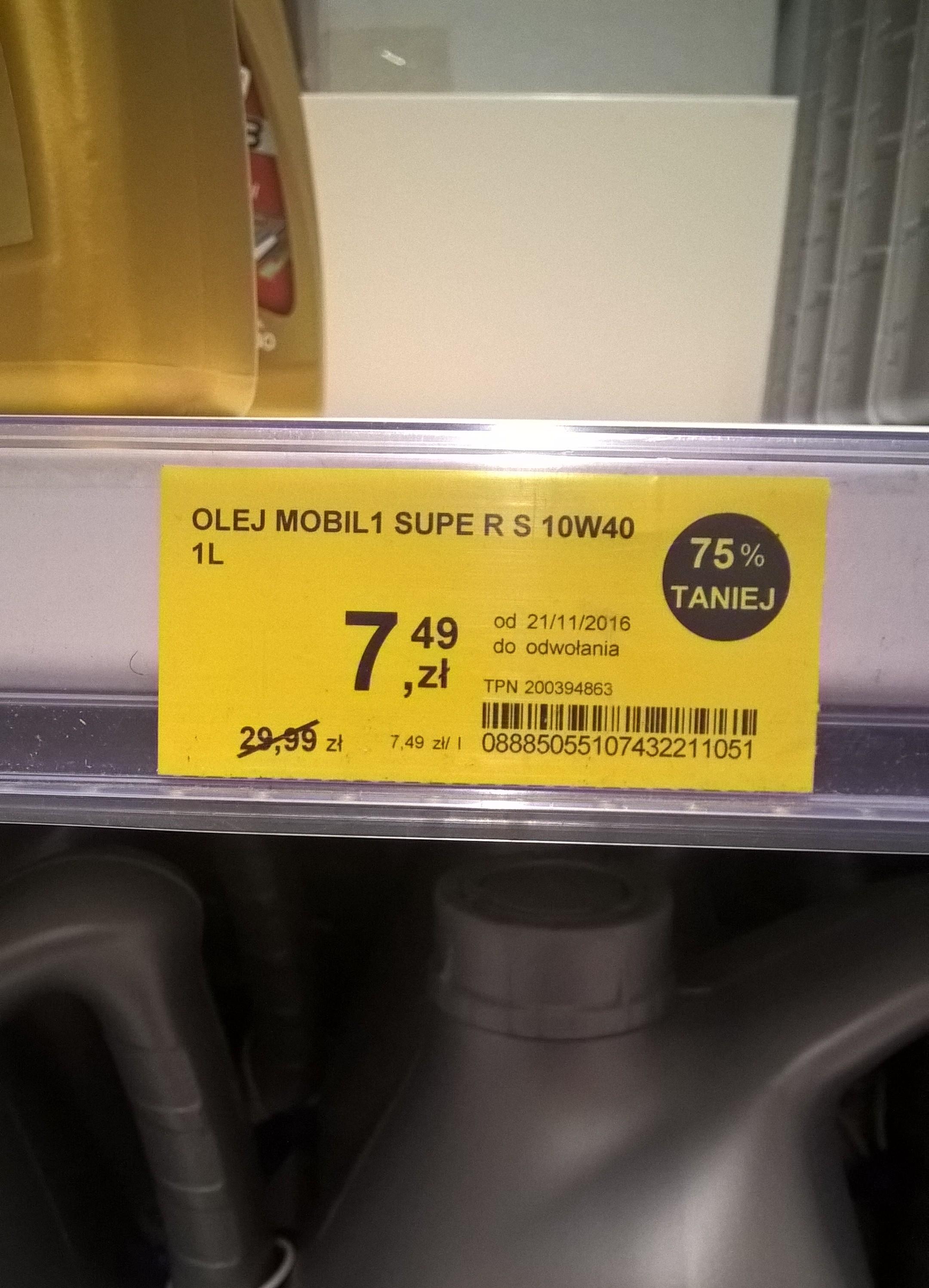 Olej silnikowy Mobil 10w40