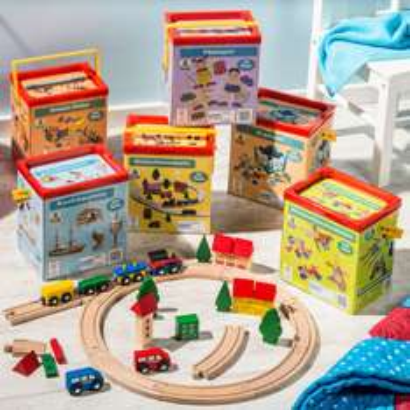 Drewniane zestawy zabawek za 39zł (różne rodzaje) @ Aldi
