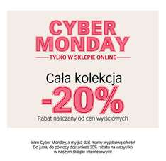 Cyber Monday w CUBUS -20%