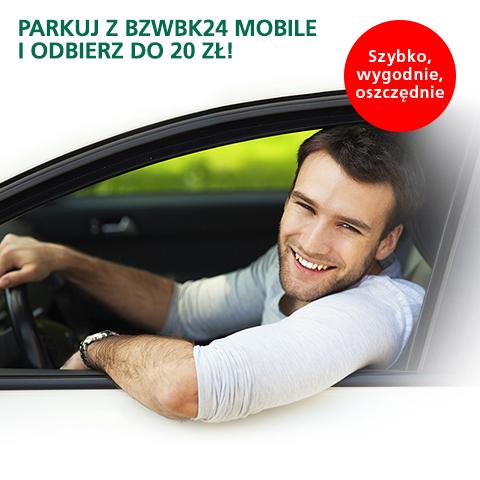 Parkuj z BZWBK w 31 miastach w Polsce a w zamian otrzymasz do 20zł zwrotu @ BZWBK