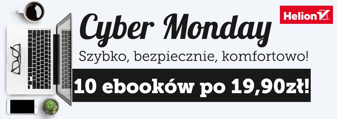 Cyber Monday: 10 ebooków po 19,90 zł @ Helion