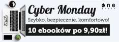 Cyber Monday: 10 ebooków po 9,90 zł @ Onepress