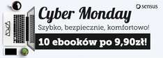 Cyber Monday: 10 ebooków po 9,90 zł @ Sensus