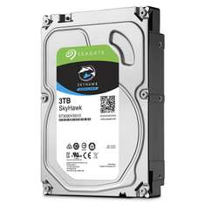 Dysk HDD 3TB Seagate SkyHawk ST3000VX010 za ~382zł z dostawą @ Amazon.fr