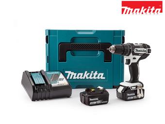 Wiertarko-wkrętarka udarowa Makita DHP482RFJ 18V + 2 baterie