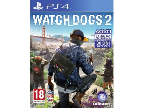 Watch Dogs 2 - polska wersja [Playstation 4] za 170,97zł z darmową dostawą @ Sferis