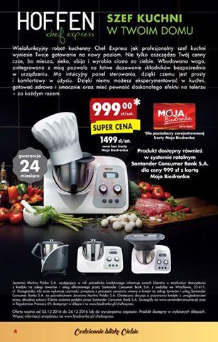 Urządzenie wielofunkcyjne Hoffen Chef Express - Biedronkowy odpowiednik Thermonixa @ Biedronka