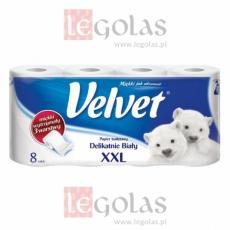 Papier toaletowy Velvet XXL 8 rolek za 1,40 zł