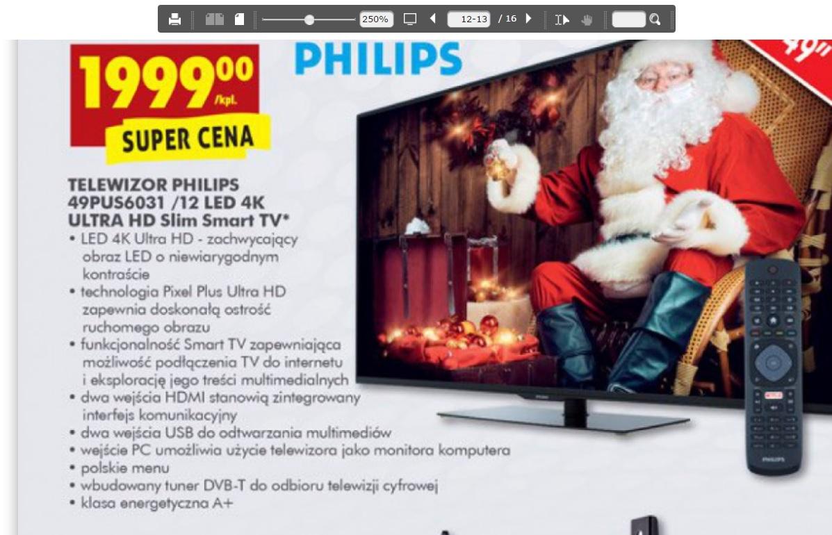 (Aktualizacja) TV PHILIPS 4K 49pus6031
