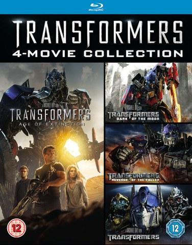 Zestaw Transformers na Blu-ray (1-4) za ok 45zł @ Zavvi