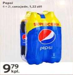 Pepsi 4 x 2 litry - 9.79 zł by @Tesco