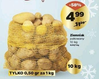 Ziemniaczki 4,99 za 10 kg by @Netto