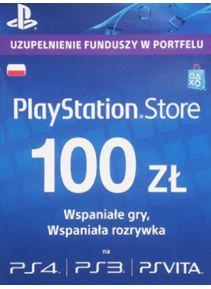 Doładowanie PlayStation Network o wartości 100 PLN
