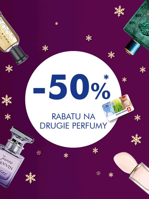 Super-Paharm drugie perfumy -50% ( również od ceny promocyjnej )