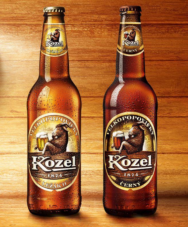 Czeskie piwo Kozel @Bierdonka