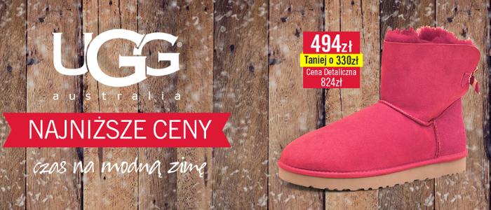 Buty i akcesoria marki UGG Australia w dużo nizszych cenach @ MandMdirect
