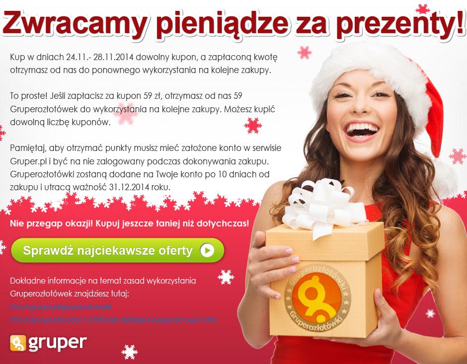 Pieniądze za zakupy do ponownego wykorzystania @ Gruper