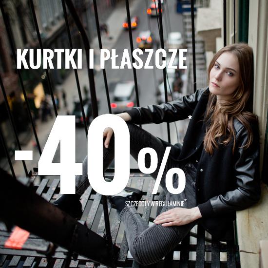Kurtki i płaszcze -40% @ House