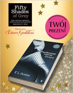 """Darmowa dostawa oraz książka """"50 twarzy Greya"""" gratis przy zamówieniu wybranych kosmetyków za minimum 79zł @ Douglas"""