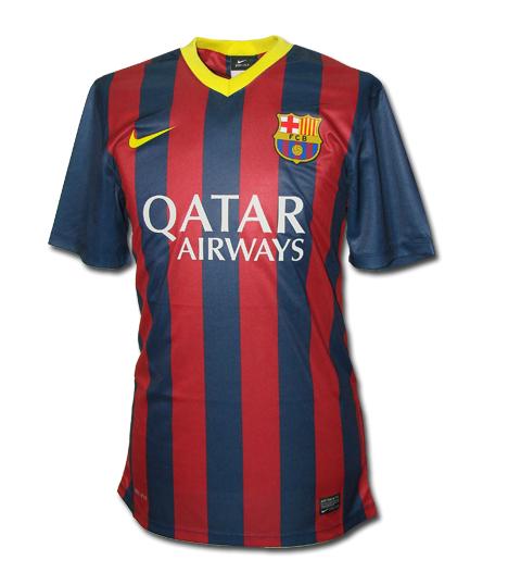 oryginalna koszulka nike FC BARCELONA za 89zł (50% taniej!) @ Allegro