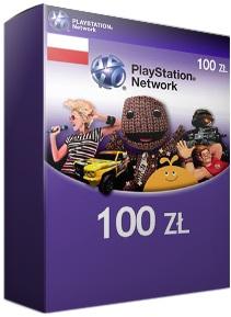 karta zasilająca Sony PSN PL o wartości 100zł za 88,39zł @ G2A