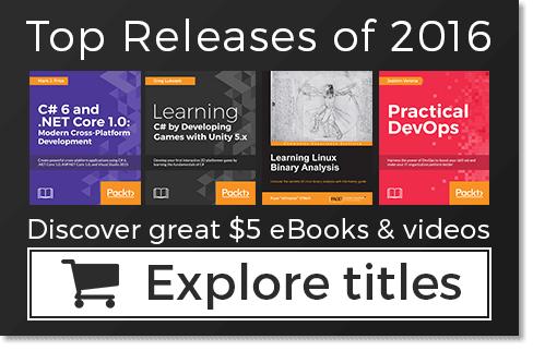 Każda książka i wideo po 5,78€ @ PacktPub