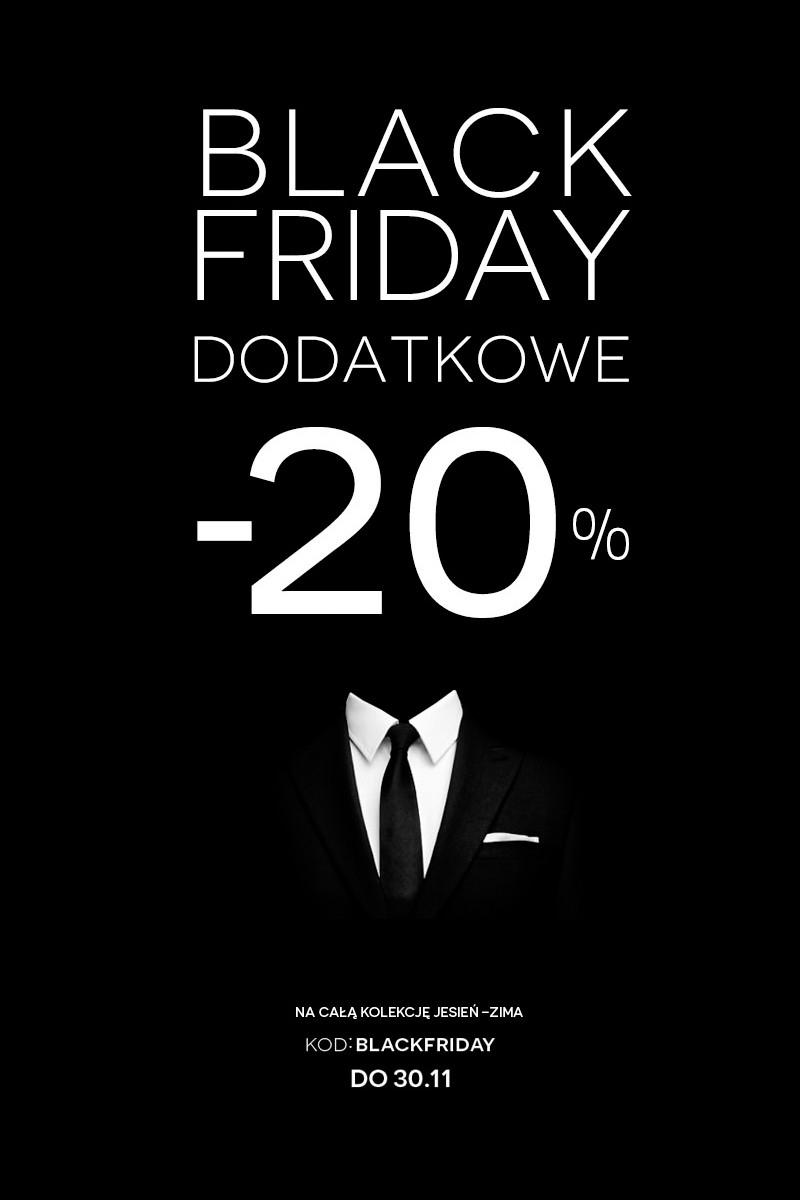 Black Friday i dodatkowe 20% na kolekcję jesień/zima 2014 @ Bytom