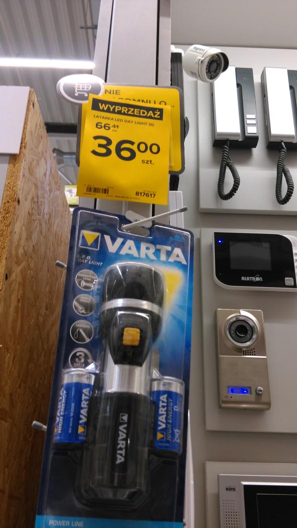 Latarka Varta - warta kupna;) Castorama