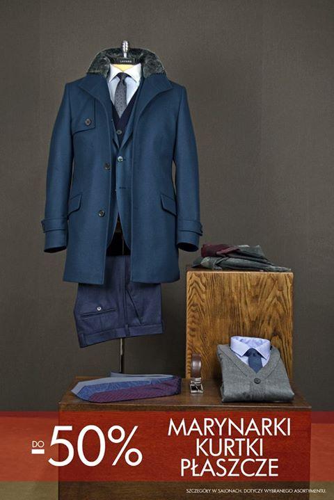 50% rabatu na marynarki, kurtki i płaszcze @ Lavard