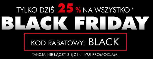 (Black Friday - TYLKO DZISIAJ) 25% rabatu na cały asortyment @ Urbancity