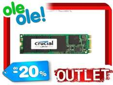 OUTLET Napęd SSD Crucial MX200 M.2 2280 500GB