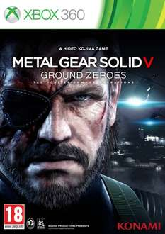 Metal Gear Solid V Ground Zeroes na Xbox 360 oraz Playstation 3 za 29zł @ konsoleigry