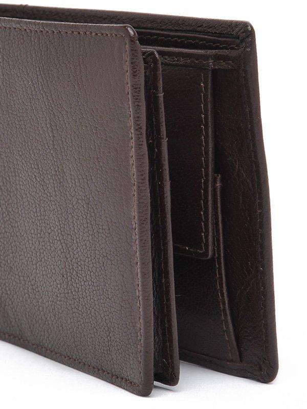 Skórzany portfel męski [Top Secret]