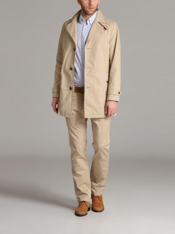 Bawełniany płaszcz męski z 369,99zł na 60zł [Top Secret]
