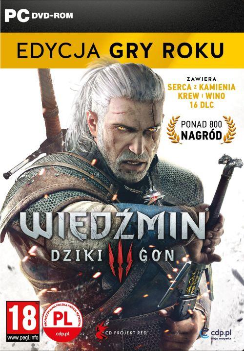 Wiedźmin III: Dziki Gon - Edycja Gry Roku (PC) PL DIGITAL - MUVE.PL