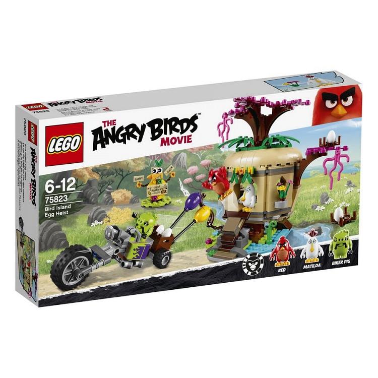 LEGO Angry Birds, Kradzież jaj na Ptasiej Wyspie @Smyk