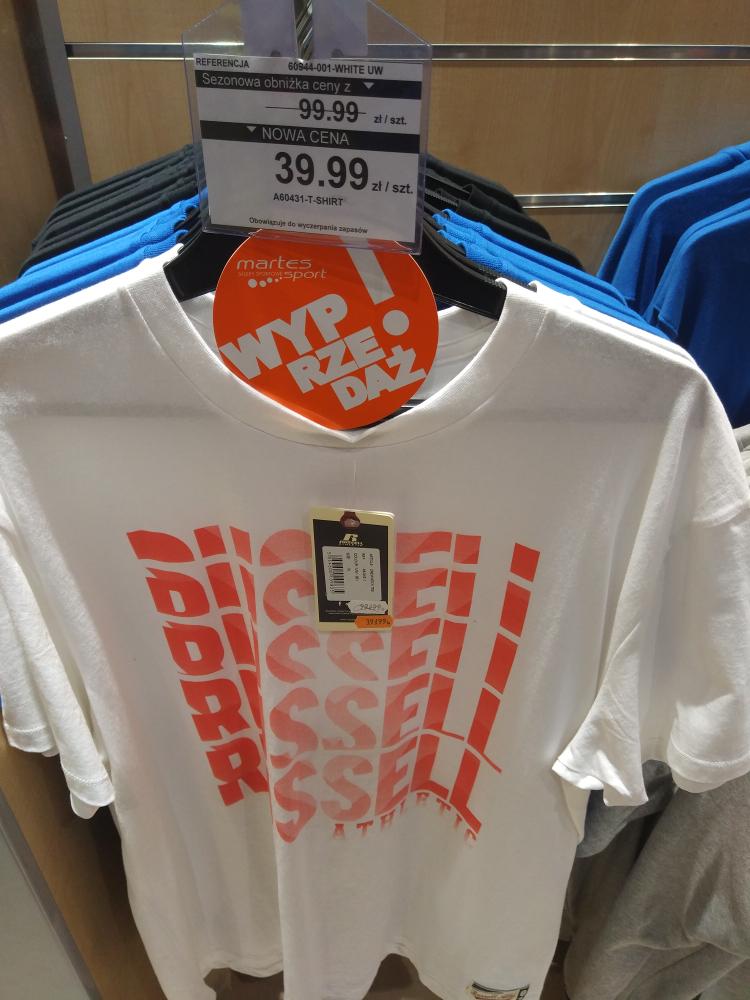 t-shirt russell athl. 39.9zł Martes