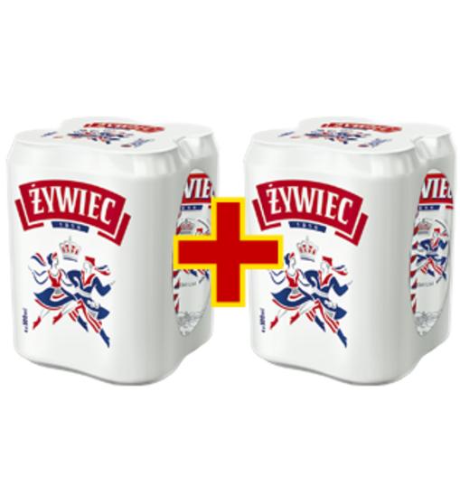 Dwa czteropaki piwa Żywiec za 17,93 zł @ Intermarche