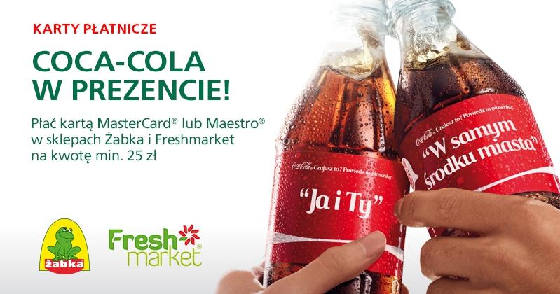 Coca-cola w prezencie, dla klientów BZWBK @ ŻABKA/FRESHmarket