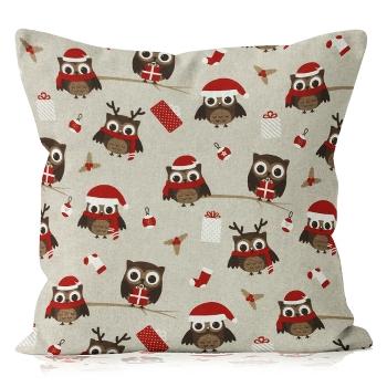 Poduszki świąteczne za 14,97zł (sowa, serca, choinki...) + darmowy odbiór w salonie @ Komfort
